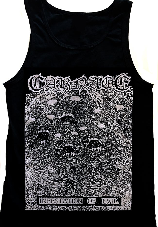 "Image of Carnage "" Infestation of Evil "" Tanktop"