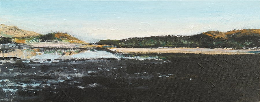 Image of Morar Dusk Study II (Original painting)