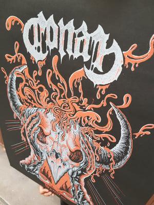 Image of CONAN (Hellfest 2019) screenprinted poster