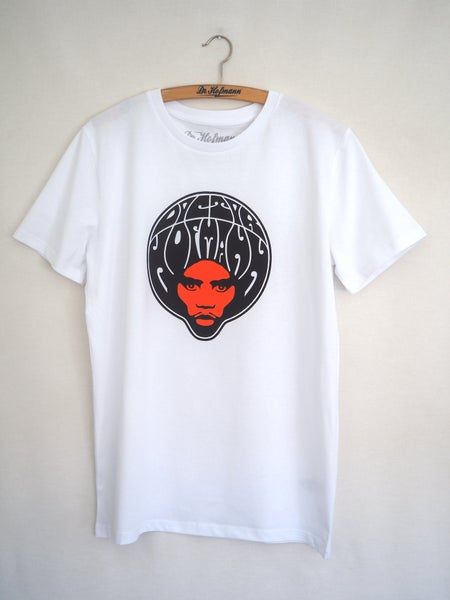 "Image of ""AFRO 2019 TEE"" - organic cotton - white"