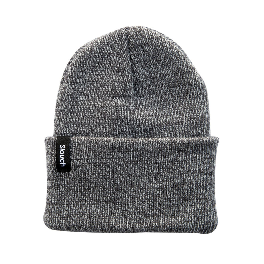 Image of Heather Gray Knit Cuff Beanie