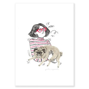 Image of DOG PRINTS (size A4)