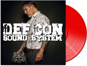 Image of Def Con Sound System 'Silver Bullets' vinyl (first pressing.).