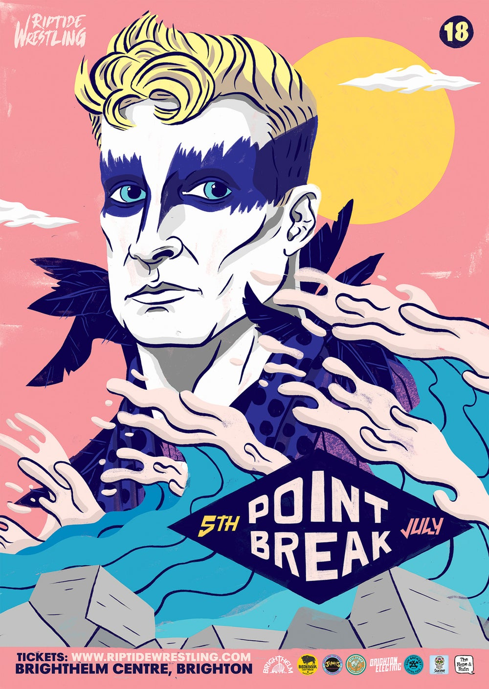 Image of POINT BREAK POSTER - A2 PRINT