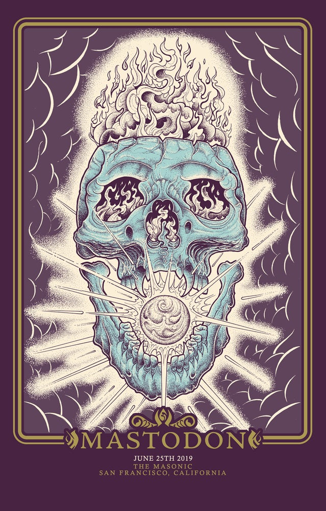 Image of Mastodon 'Unheavenly Skye' 2019