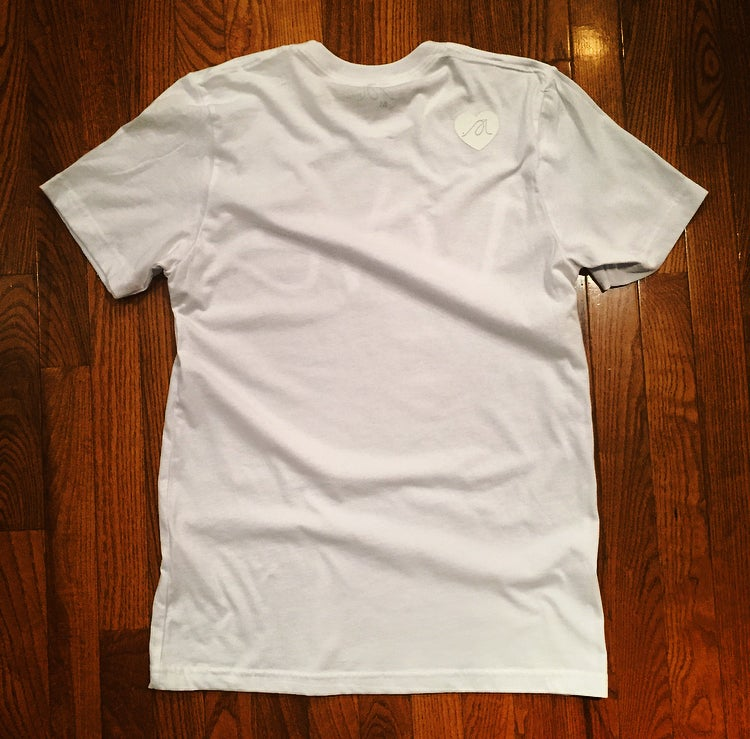 "Image of All White ""Love...period!"" Tee"