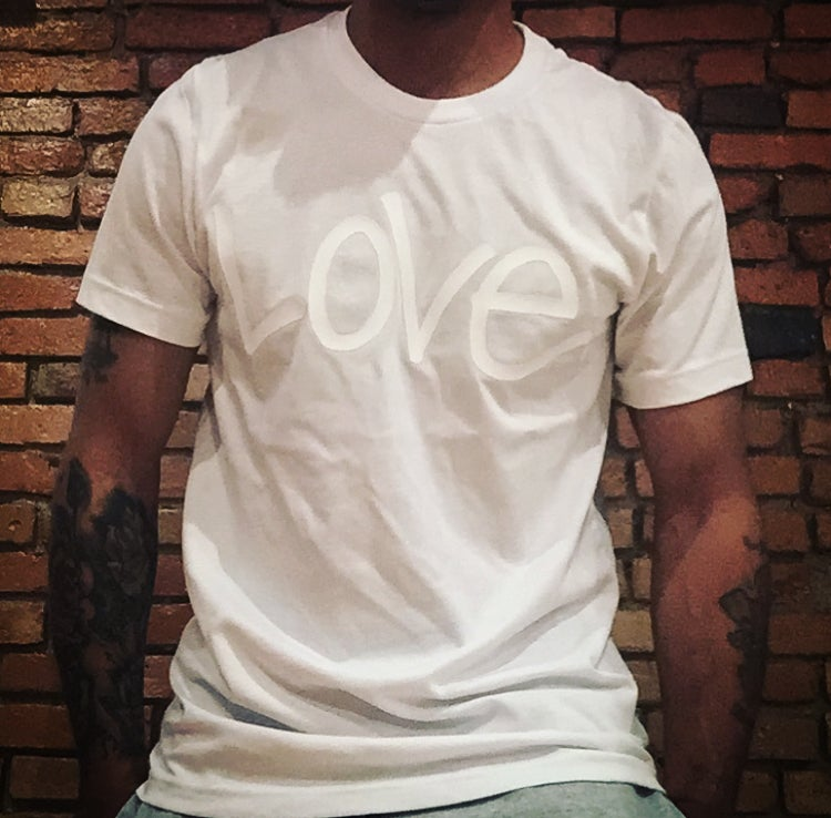 """Image of All White """"Love...period!"""" Tee"""