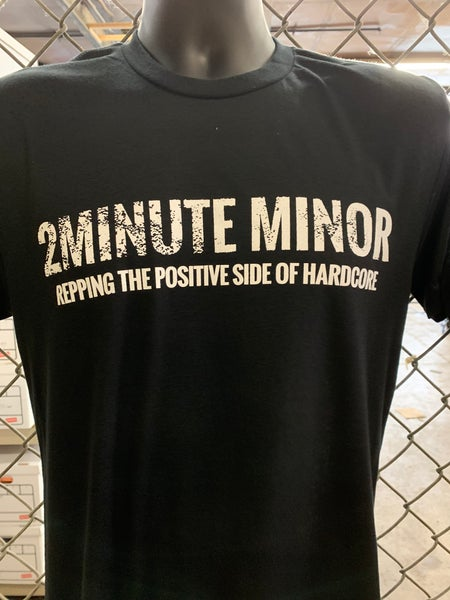 Image of SOLD OUT - Repping The Positive Side Of Hardcore in Black