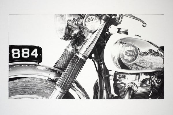 Image of 'A Bright, Sunny Afternoon at the Malle Mile' Giclée Print