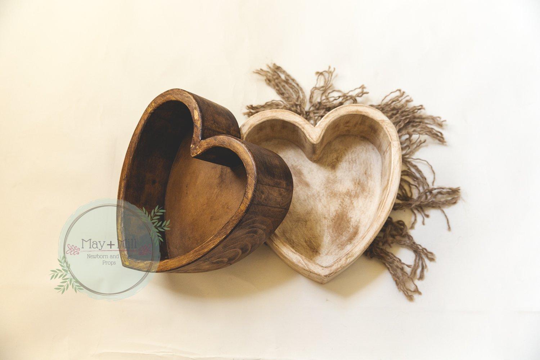 Image of Deep Vintage Heart Bowls