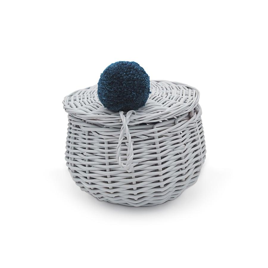 Image of Petit panier gris -30%