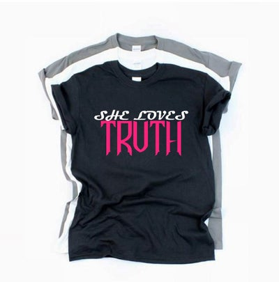 Image of She Loves Truth tshirt
