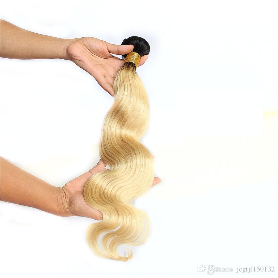 Image of Boudoir Blonde Body Wave 613 & 1B/613 Single Bundles