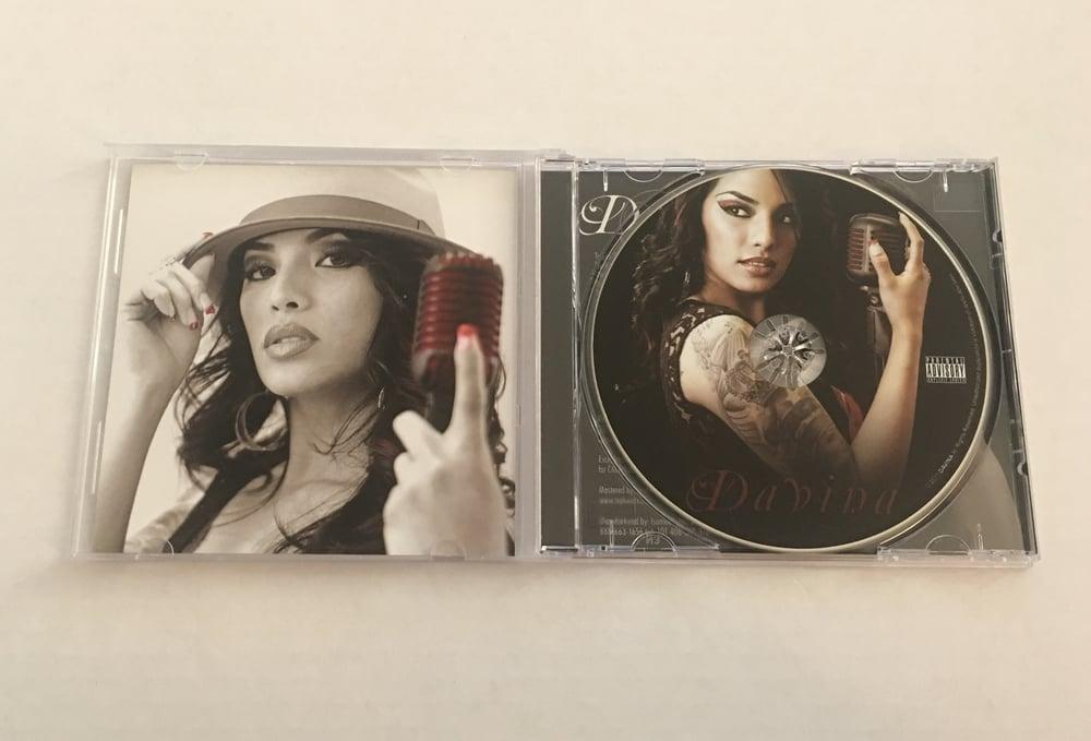 "Image of LAST FEW COPIES of ""Davina"" -Self Titled CD (Album #3)"