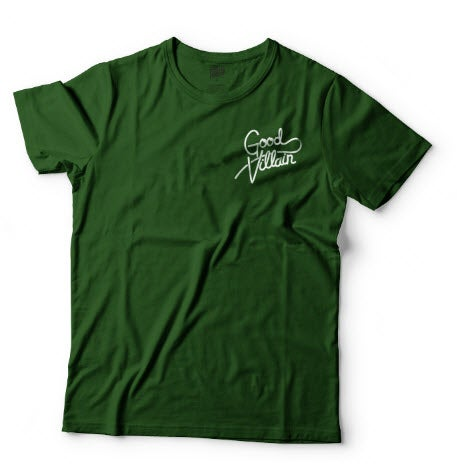 Image of BIG FOREST CLASSIC LOGO VILLAIN TEE