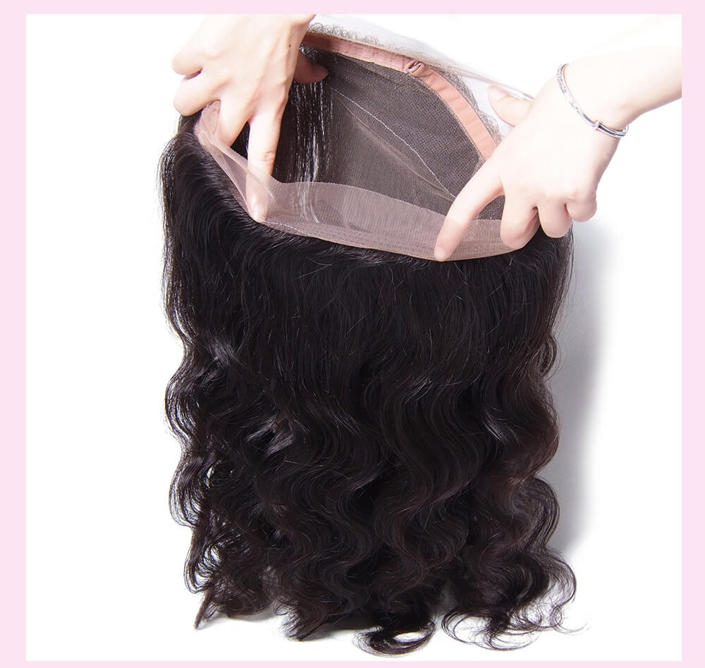 Image of Boudoir Body Wave 360 Lace Frontal