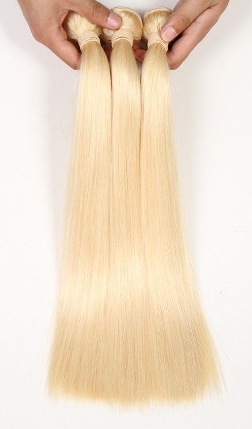 Image of Boudoir Blonde Straight 613 & 1B/613 Single Bundles