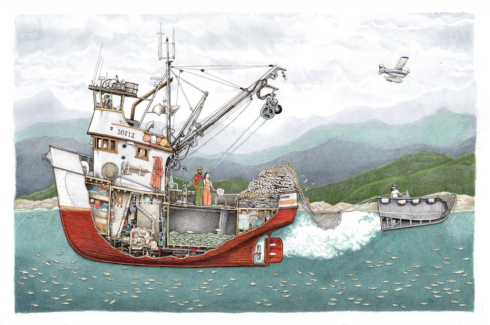 "Image of SEINER SETTING 22"" X 17"""