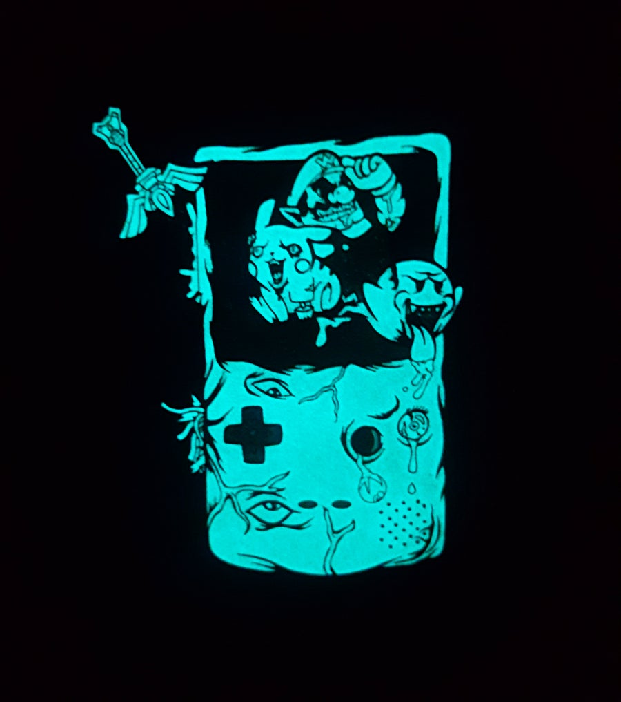 Image of Gloomboy Pin V4 Glow