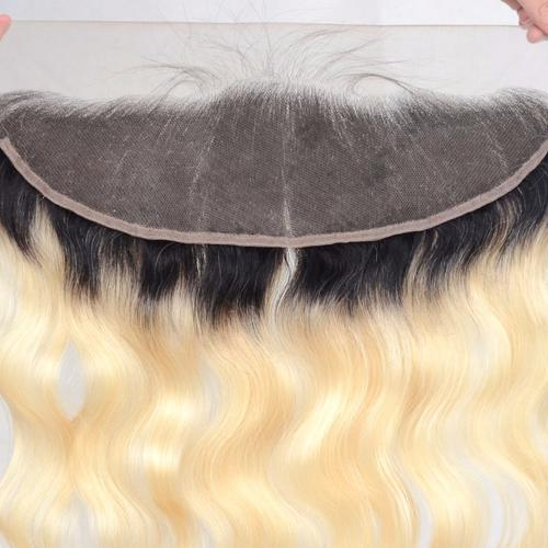 Image of Boudoir Blonde 613 & 1B/613 Lace Frontal (Body Wave & Straight)