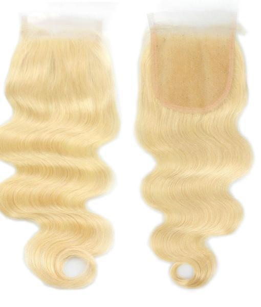 Image of Boudoir Blonde Body Wave 613 & 1B/613 Lace Closure