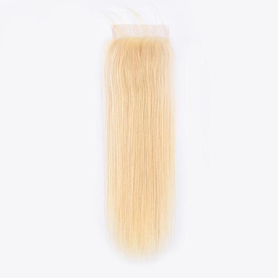 Image of Boudoir Blonde Straight 613 & 1B/613 Lace Closure