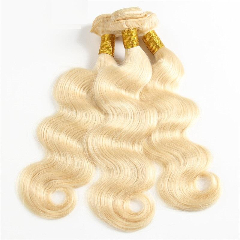 Image of Boudoir Blonde Body Wave 613 & 1B/613 3 Bundle Deal