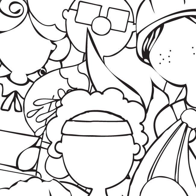 Image of When I Grow Up: Colouring Book