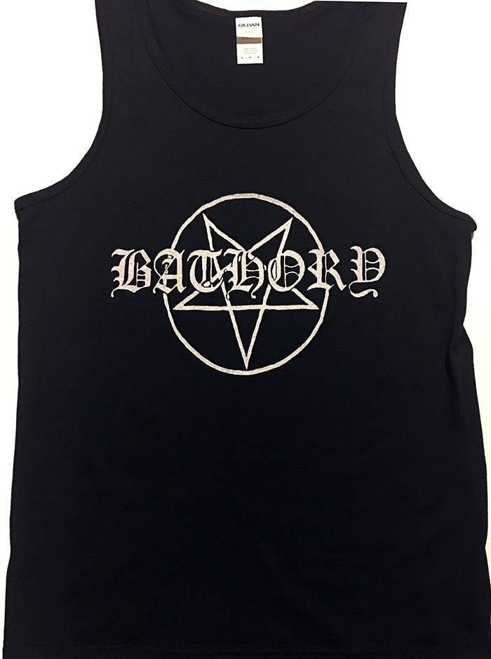 "Image of Bathory "" Pentagram Logo""  Men's Tank Top"