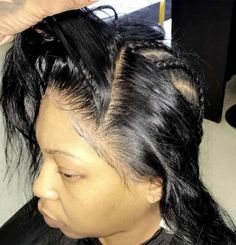 Image of Boudoir Natural Straight Lace Frontal