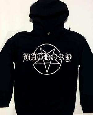 """Image of Bathory """" Pentagram """"  Hoodie"""