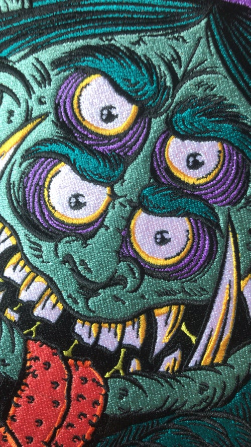 Image of KEEP IT GREASY Backpatch