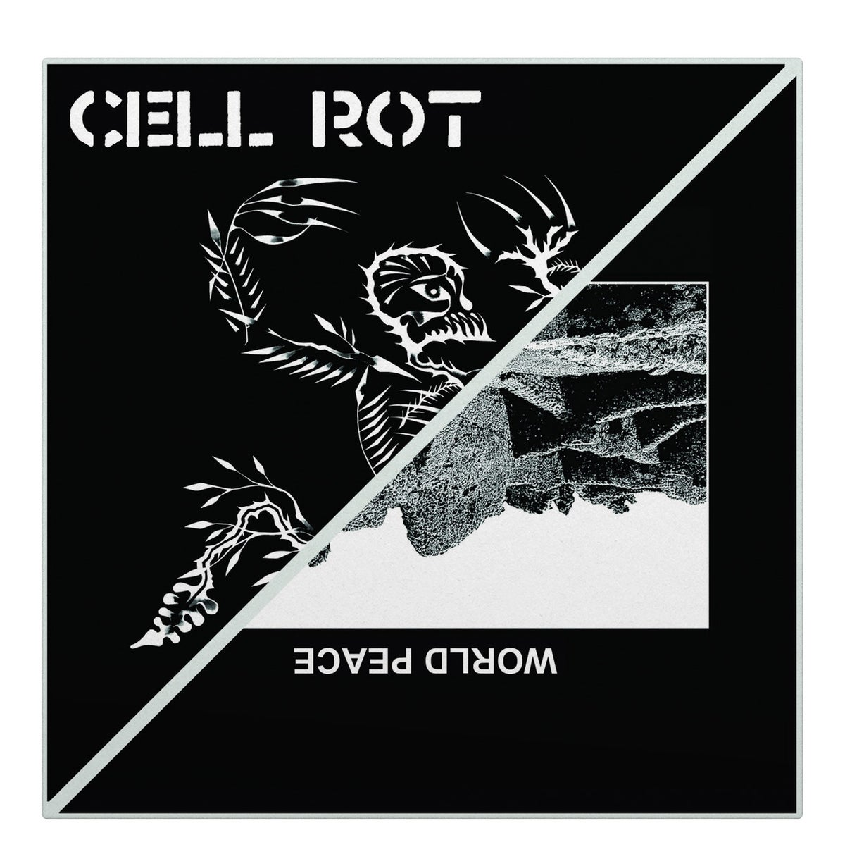 "Image of Cell Rot x World Peace ""Split"" EP"