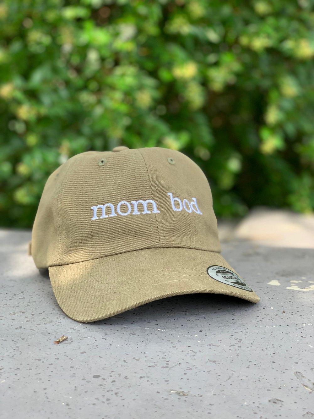 Mom Bod Hat Olive