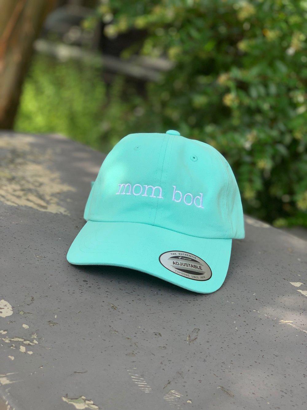 Mom Bod Hat Teal
