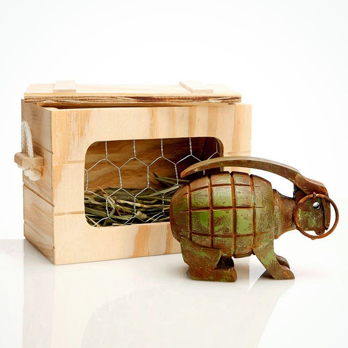 Image of Grenade Bunny - Limited Edition Sculpture