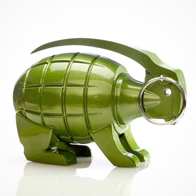Image of Grenade Bunny - Metallic Green Edition