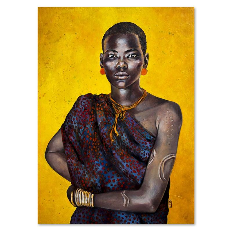 "Image of Canva Art Print - ""Kiboei"""