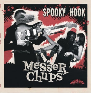 Image of LP. Messer Chups : Spooky Hook.   Ltd Edition re-issue.