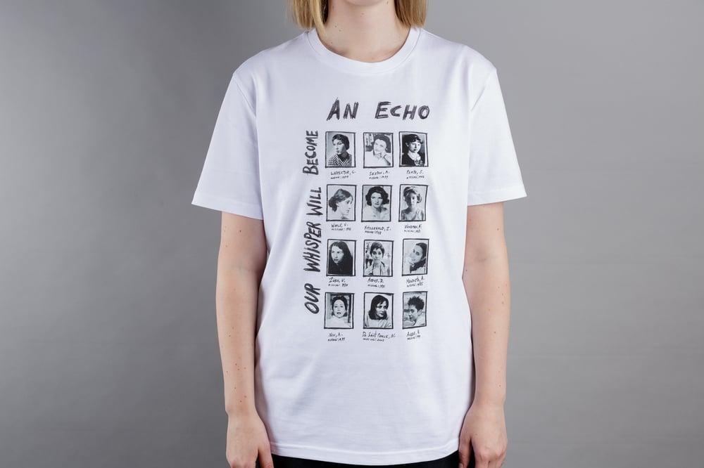 Athena Papadopoulos, <i>MISSING/WANTING/NEEDING YOU T-shirt</i>, 2019