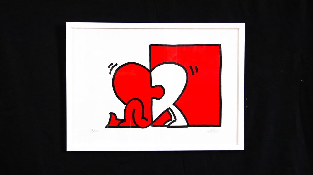 Image of 'Love Found' - Hand signed screen print by Haser