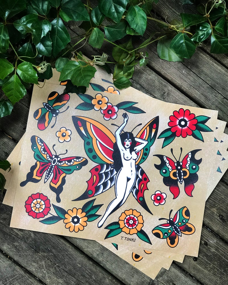 Image of Butterfly Flash Sheet