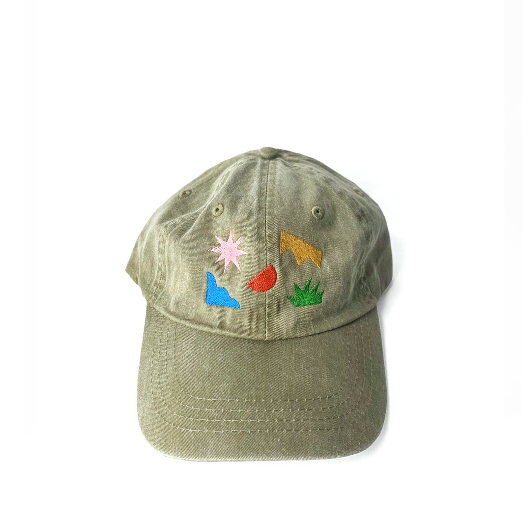 Image of Forms Hat - Khaki
