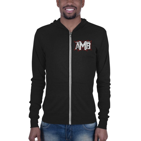 Image of AMB Muerte Skull Zip Up