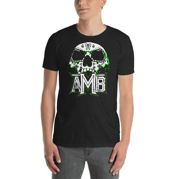 Image of AMB Green Skull Shirt