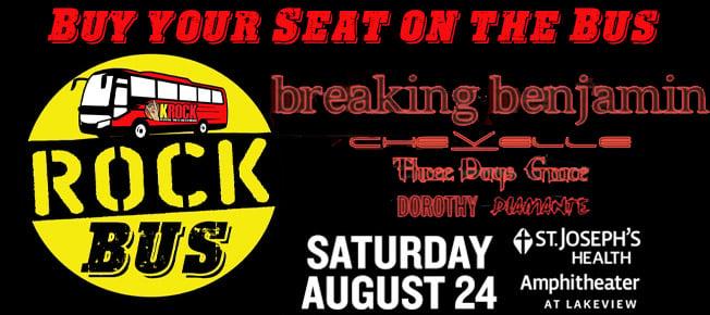 Image of ROCK Bus - Breaking Benjamin
