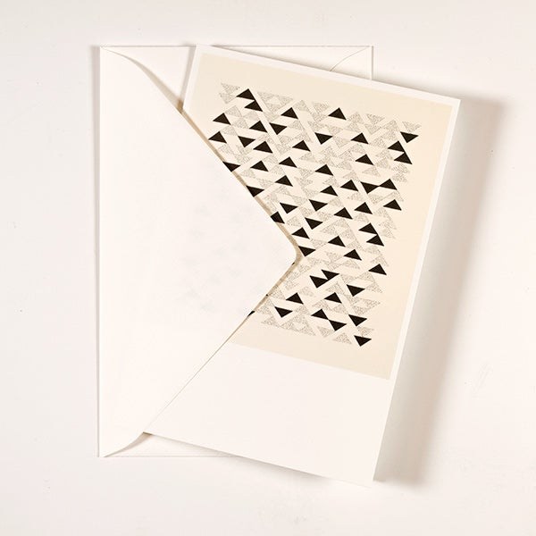 Image of Anni Albers Folded Card #1