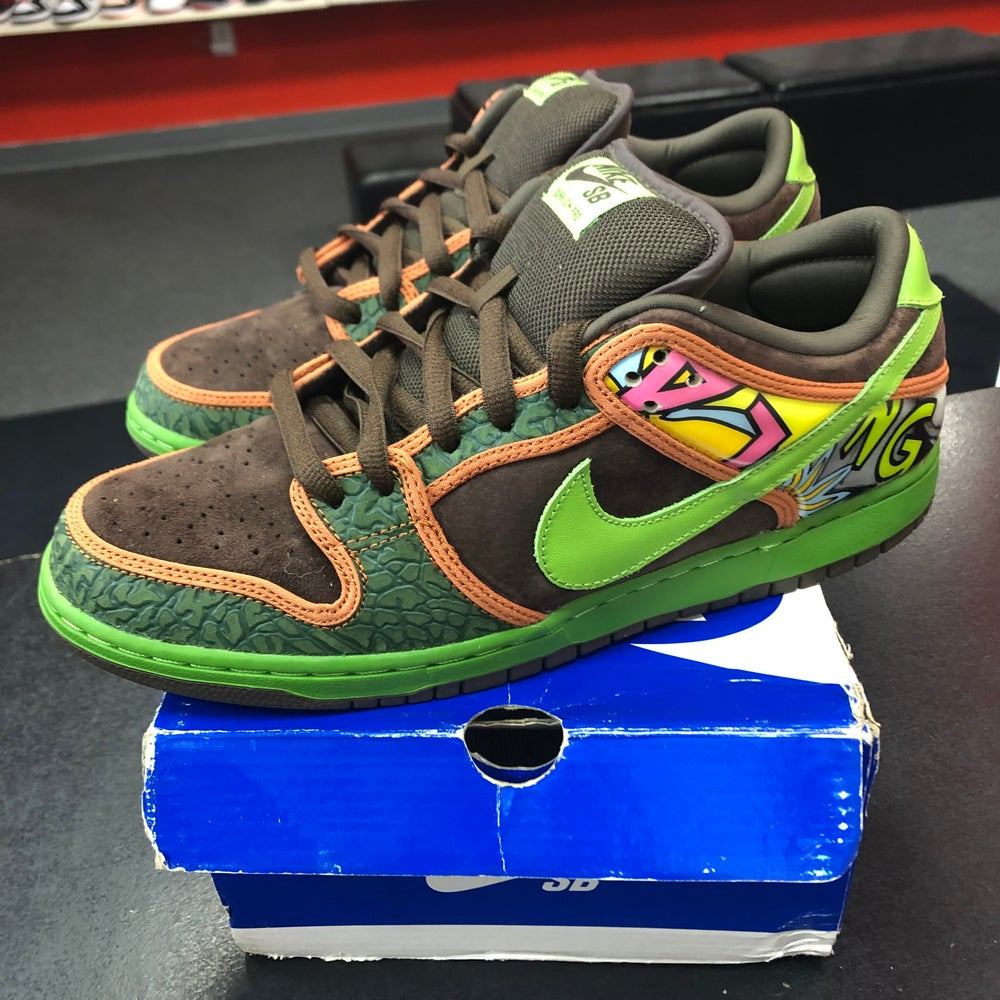 Image of Nike SB Dunk Low - De La Soul - Size 10.5