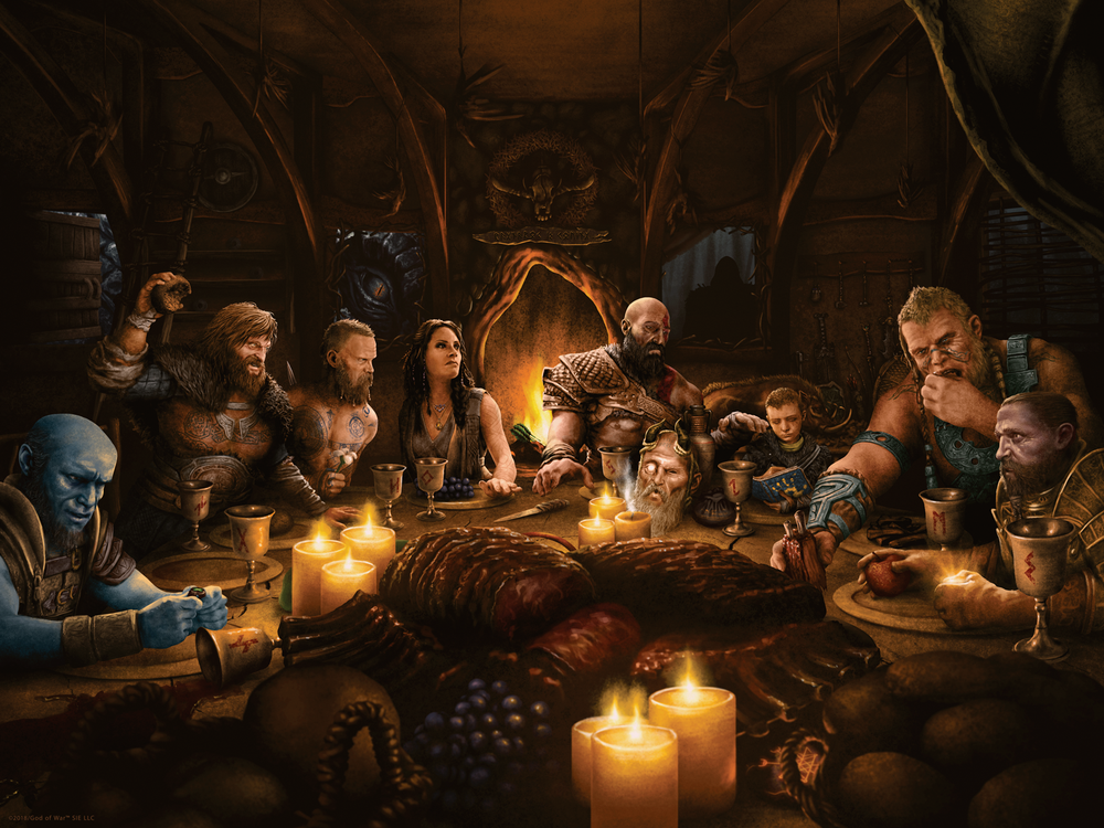 Image of God of War - Freya's Dinner
