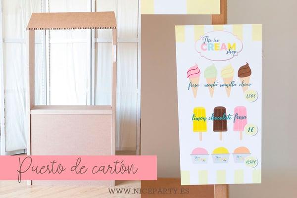 Image of Puesto DIY cartón (Guía PDF)